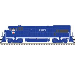 Atlas #10003448 U23B Locomotive w/DCC/Sound - MISSOURI PACIFIC #2275