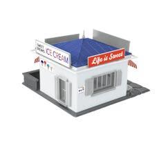 Lionel HO #2167060 ICE CREAM SHOP KIT