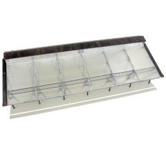 Walthers #933-2984 Trainshed with Clear Roof - Kit