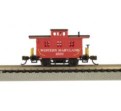 Bachmann #15755 Old Time Caboose - WESTERN MARYLAND