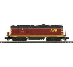 MTH #20-21516-1 GP-9 Diesel Engine With Proto-Sound 3.0 - Allegheny Valley Railroad Cab No. 7559