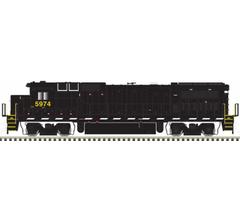 Atlas #10003084 DASH 8-40B w/DC/DCC/Sound - CSX #5966