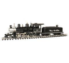 Bachmann #91801 D&RGW 4-6-0 Steam Locomotive