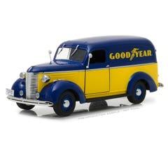 Greenlight #18243 1939 Chevrolet Panel Truck - Goodyear Tires