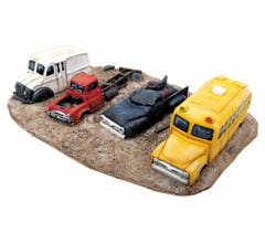 Walthers #949-3006 Junk Truck Row