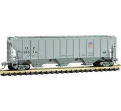 Micro Trains #09600191 3-Bay Covered Hopper, Union Pacific # 81676
