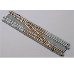 Kato #20-231 N Scale Right Double Track Single Crossover