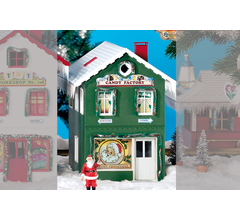 PIKO #62713 North Pole Candy Factory Built Up