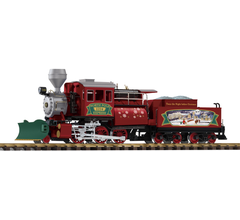 Piko #38246 Christmas Camelback Locomotive with Tender (Digital with Sound and Smoke)