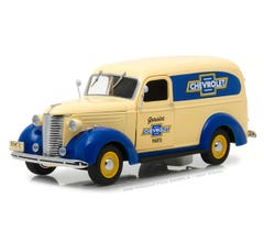 Greenlight #18242 1939 Chevrolet Panel Truck - Genuine Chevrolet Parts