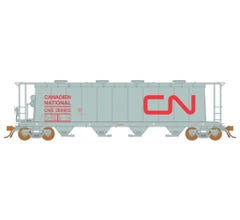 Rapido #127012 3800 Covered Hopper: CNIS Red Noodle - 6 pack