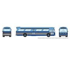 Rapido #573005 N Scale 1/160 New Look Bus -New York-Blue