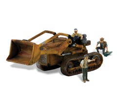 Woodland Scenics AS5558 Auto Scenes w/Figures & Accessories- Fritz's Front Loader
