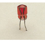 LGB #68512 (5051/2) Plug-In Bulbs, Red, 5 Volt 10PK