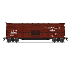 Broadway Limited #5880 C&O Stock Car Cattle Sounds