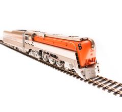 Broadway Limited #4553 Chesapeake & Ohio Class L-1 Hudson #493 Original Orange Boiler