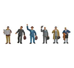 Walthers #949-6024 Figures - Business Travelers