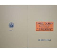 Lionel #38310B Set Box Post War Series