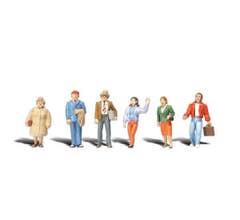 Woodland Scenics #A2730 General Public - 6 figures