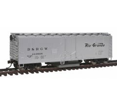 Walthers #931-1482 Track Cleaning Boxcar - Denver & Rio Grande Western
