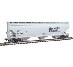 Walthers 910-7679 60' NSC 5150 3-Bay Covered Hopper - Union Pacific #90596