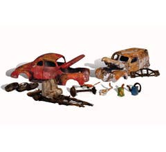 Woodland Scenics AS5563 Autoscenes with Figures and Accessories