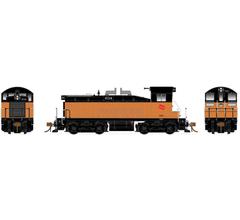 Rapido #27035 EMD SW1200 Locomotive - Milwaukee Road #638