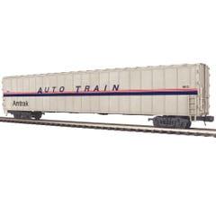 BAD BOX MTH #20-95269 75' AutoTrain Auto Carrier - Amtrak #9013