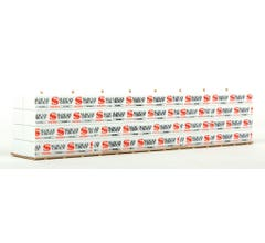 Walthers #949-3124- Wrapped Lumber Load for Walthers Proto CC&F Bulkhead Flatcar- Slocan Group