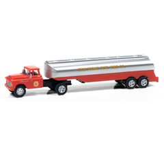 Classic Metal Works #31197 1957 Chevy w/Tanker Trailer (Millstone Township Fire Dept)