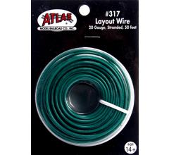 Atlas 317 Layout Wire-Green 50'