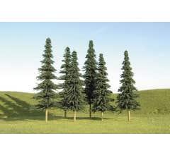 """Bachmann #32158 4"""" - 6"""" Spruce Trees"""