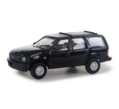Walthers 949-12042 Ford Expedition Special Service Vehicle (SSV) - Black Unmarked Unit
