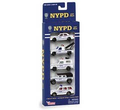 Daron #RT8610 NYPD Diecast Vehicle Gift Pack - (5pcs)