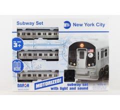 Daron #NY23075 NYC MTA Battery Subway Train Set W/Track