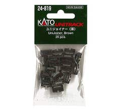Kato #24-819 Kato Unitrack UniJoiners Brown (20)