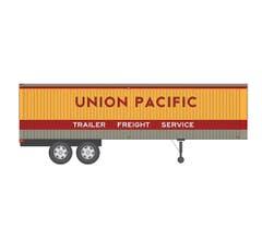 Rapido #403016 35' Fruehauf Integral-Post Volume Van - Union Pacific