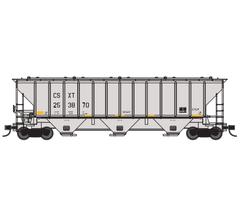 Trainworx #24424-06 PS4427 Covered Hopper - CSXT #253870