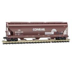 Micro Trains #09400630 CONRAIL 3-Bay Covered Hopper Car