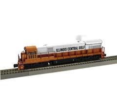 American Flyer #1921062 Illinois Central #5053 U33C Diesel Loco w/Legacy