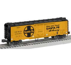 Lionel #2026062 Santa Fe #14193 - 40' Plug Door Reefer