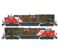 Intermountain #497109S GE Evolution Series Tier 4 Loco With DCC & Sound - Canadian National Veterans