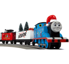 Lionel #6-85324 Thomas & Friends Christmas Freight Lionchief Set With Bluetooth