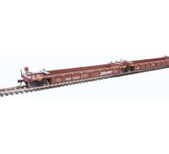 Walthers #910-55623 Thrall 5-Unit Rebuilt 40' Well Car - BNSF Railway #238284 A-E