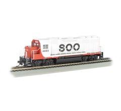 Bachmann #66304 EMD GP40 Diesel Loco - w/ DCC Sound Value - Soo Line