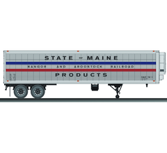 Lionel #6-83580 BAR State of Maine 40' Trailer (2 pack)