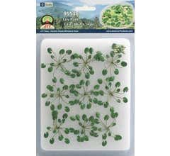 """JTT #95538 Lily Pads 1-1/2"""" Wide O Scale, 9/pk"""