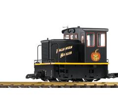 PIKO #38153ENG Halloween Hauler GE 25-Ton Diesel Electric locomotive Standard DC DCC Ready