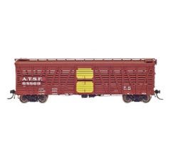 InterMountain #47910 Stock Car - ATSF - SK-S