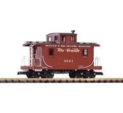 PIKO #38907 Denver & Rio Grande Western (D&RGW) Wood Caboose